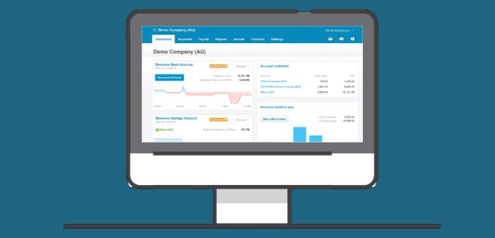 Specialist accountancy Xero screenshot