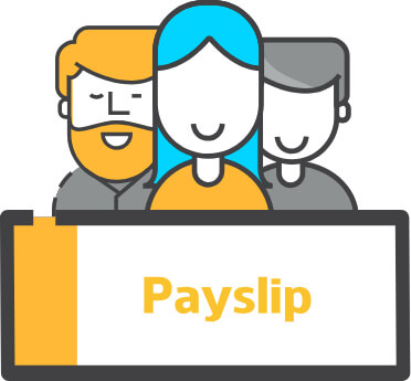 Payslip image - outsourced payroll for agencies illustration