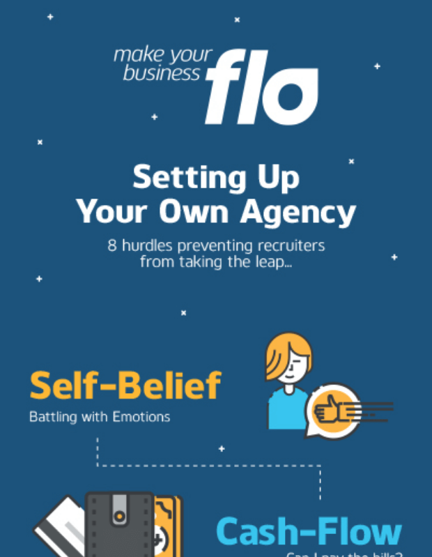 Thinking of setting up your own recruitment agency infographic