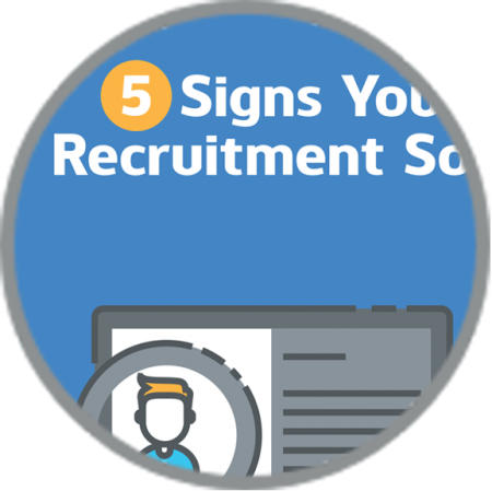 5 Signs You Need Recruitment Software infographic