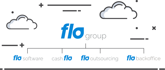 Flo group structure graph illustration